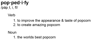 Defintion of Poppedify