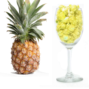 Glass and Pineapple